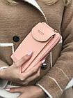 Сумка клатч на ремешке с карманом для телефона, фото 4