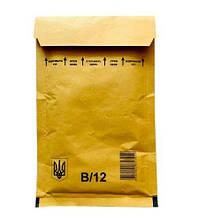 Конверт Бандерольний тип 12 (140х225+50) світло-коричневий