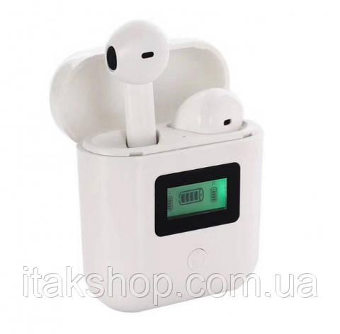 Беспроводные наушники tws iT007 Bluetooth с LCD дисплеем и магнитным кейсом, фото 2