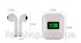 Беспроводные наушники tws iT007 Bluetooth с LCD дисплеем и магнитным кейсом, фото 3