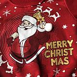 Теплый костюм новогодний на мальчика и девочку 6. Размер 74 см, 80 см, 86 см, фото 2