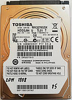 "Жесткий диск для ноутбука Toshiba 320GB 2.5"" 8MB 5400rpm (MK3276GSX) SATAII 3Gb/s Б/У"
