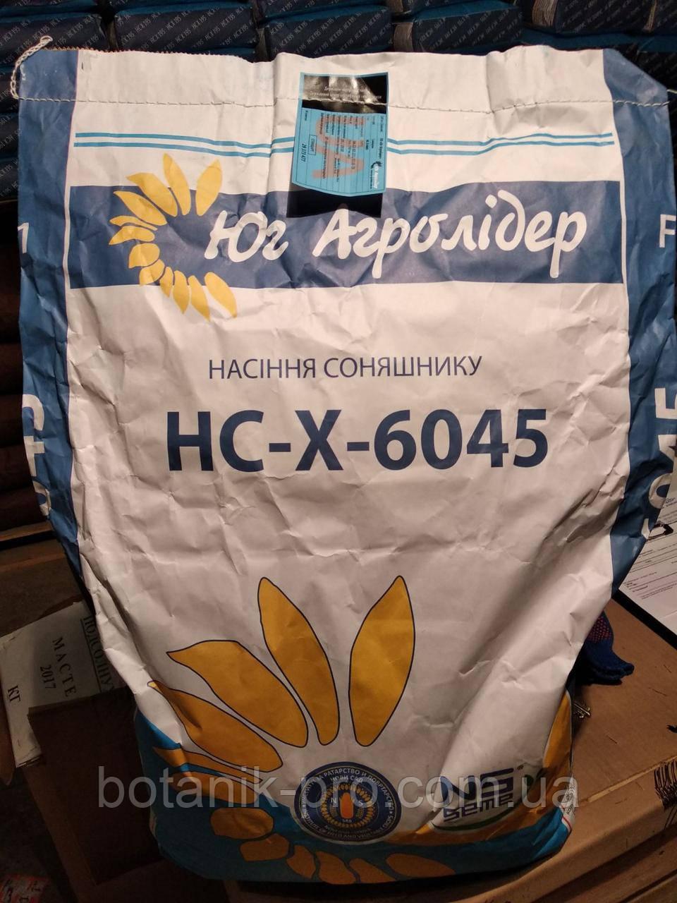 Семена подсолнечника НС-Х-6045 под Евролайтинг А-G+ фракция экстра.