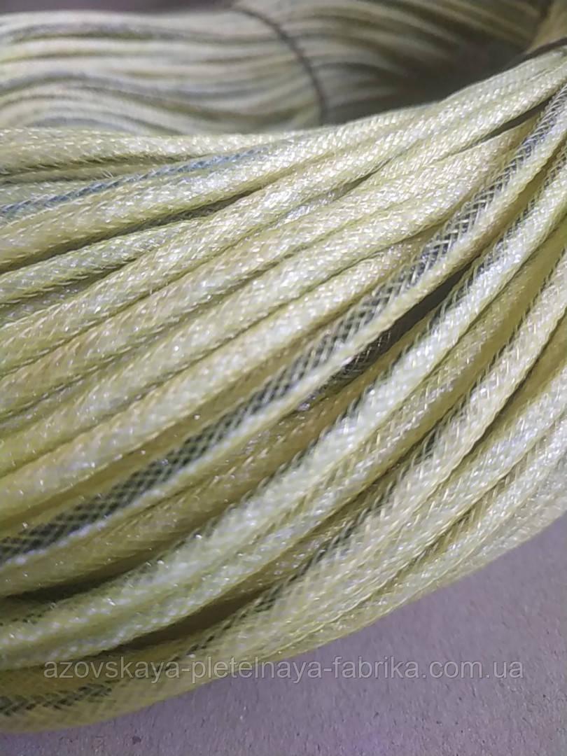 Фал лесковый плетенный комбинированый 3,5 мм 210 м
