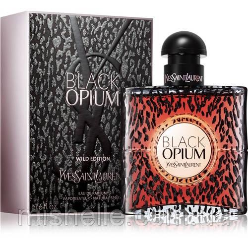 Парфюм Yves Saint Laurent Black Opium Wild Edition (Ив Сен Лоран Блек Опиум Вайлд Эдишн) оригинальное качество