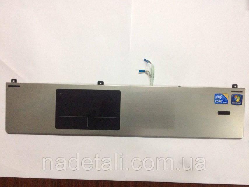 Панель с тачпадом и сканер отпечатка HP ProBook 4520s