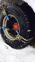 Браслеты цепи противоскольжения БУЦ грузовой 6шт