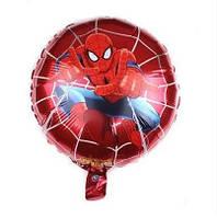 """Фольгированные шары с рисунком 18"""" Человек Паук на красной паутине Spiderman (Китай)"""