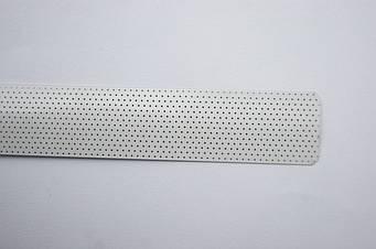 Горизонтальные алюминиевые жалюзи любого цвета под заказ 201А Белый Перфорированный