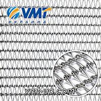 Архитектурная плетеная сетка нержавеющая 1206РВ4
