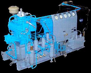 Компрессор высокого давления серии ВТ1,5-0,3 ВТ1.5-0.3/150А2