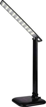 Настольная черная LED лампа DSL052, 9W, 500lm, 4100k, dimmer, sensor, фото 2