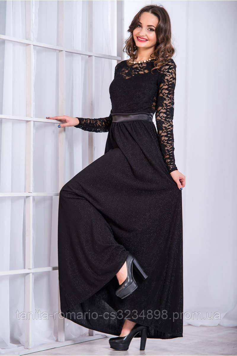 Вечернее платье 5280e Черный