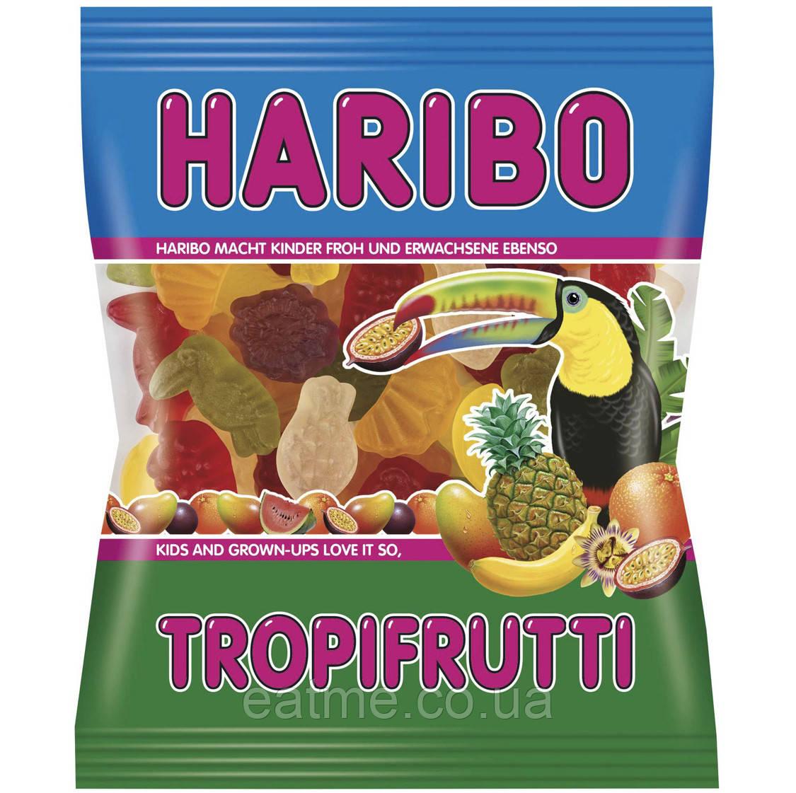 Haribo Tropifrutti Желейные конфеты со вкусом тропических фруктов