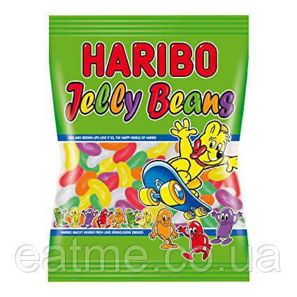Haribo Jelly Beans Желейные Конфеты с фруктовыми вкусами в виде бобов