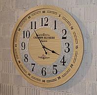 Интерьерные настенные часы деревянные (60 см.), фото 1