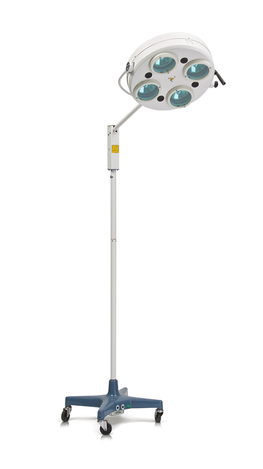 Світильник хірургічний безтіньовий пересувний СМ-28