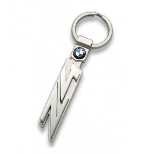Оригинальный брелок для ключей BMW Z4 Series Key Ring, Silver (80272454663)