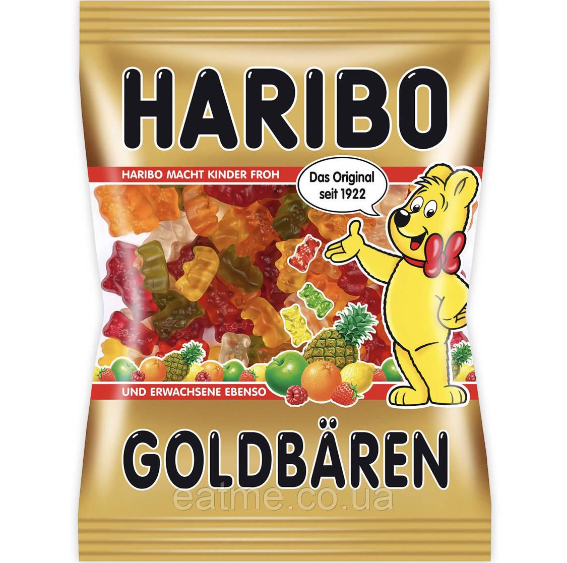Haribo Goldbären Желейные конфеты с фруктовыми вкусами в виде Мишек
