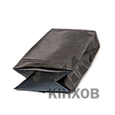 Пакет з центральним швом 90*320 ф (30+30) чорний, фото 3