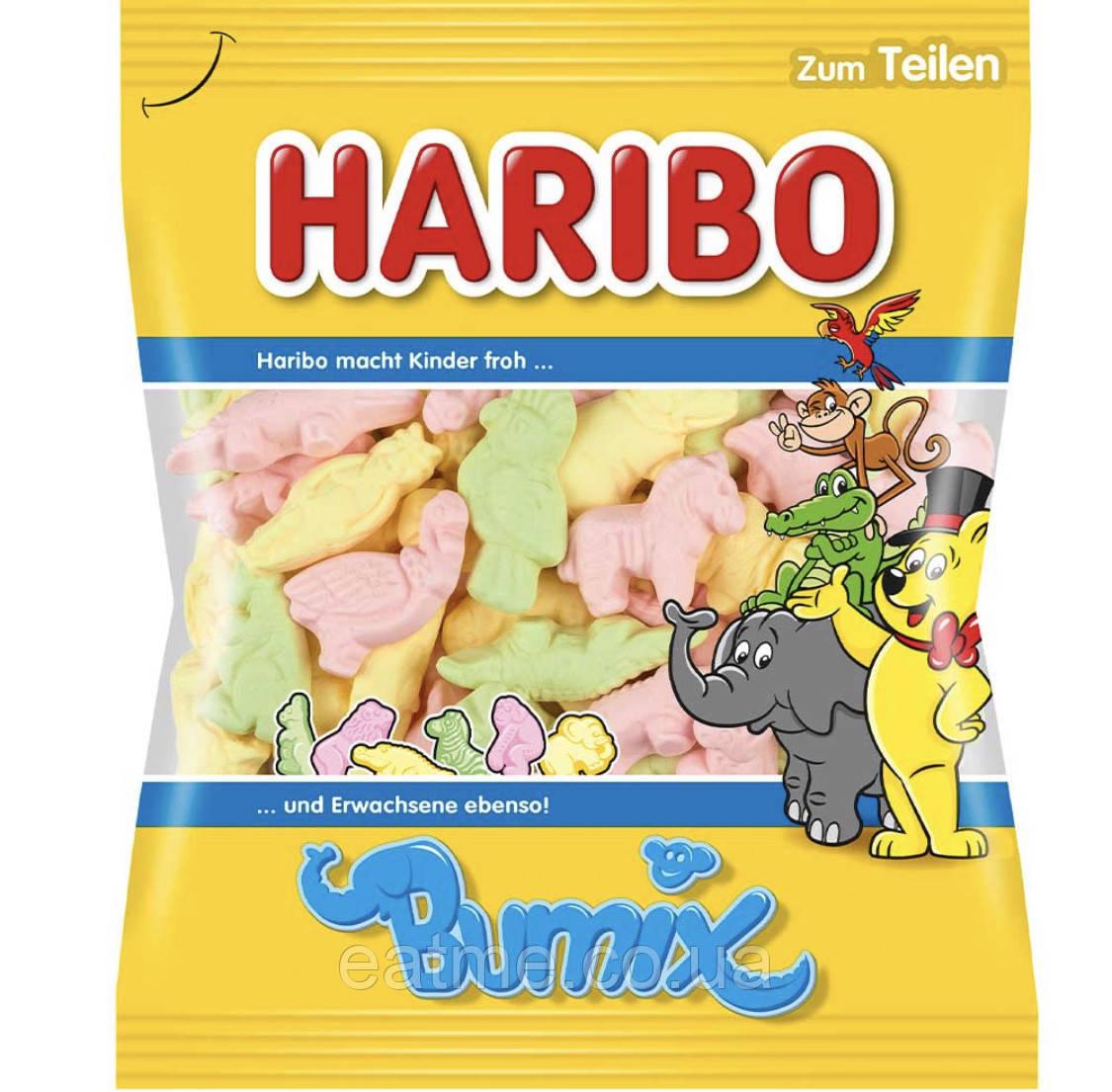Haribo Bumix Жевательные конфетки в виде животных