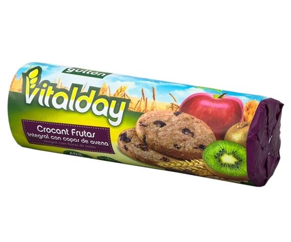 Печенье GULLON tube Vitalday Crocant Fruta y Fibras 300 г
