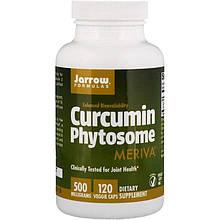 "Фитосомы куркумина Jarrow Formulas ""Curcumin Phytosome Meriva"" 500 мг (120 капсул)"