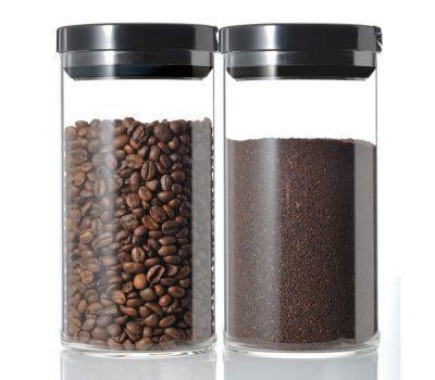 Емкость для хранения кофе/чая/ HARIO с вакуумной крышкой