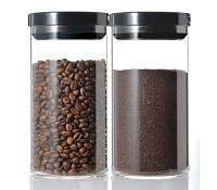 Емкость для хранения кофе/чая/ HARIO с вакуумной крышкой, фото 1
