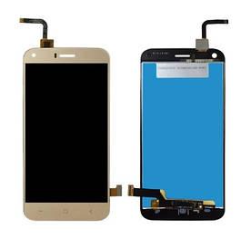 Дисплей для Umi London (Bravis A506 | S-TELL M621) с сенсорным стеклом (Золотой) Оригинал Китай