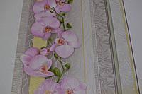 Обои, виниловые, супер-мойка, орхидея, Клумба  5703-12, супер-мойка, 0,53*10м .