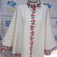 Кашемірове пальто-пончо, фото 1