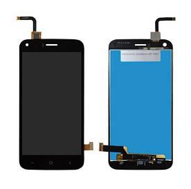 Дисплей для Umi London (Bravis A506 | S-TELL M621) с сенсорным стеклом (Черный) Оригинал Китай