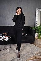 Спортивный костюм женский зимний до - 25*С Топ качество X Black, фото 1