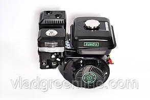 Двигатель бензиновый GrunWelt GW170F-Q NEW Евро 5 (шпонка, вал 19 мм, 7.0 л.с.)