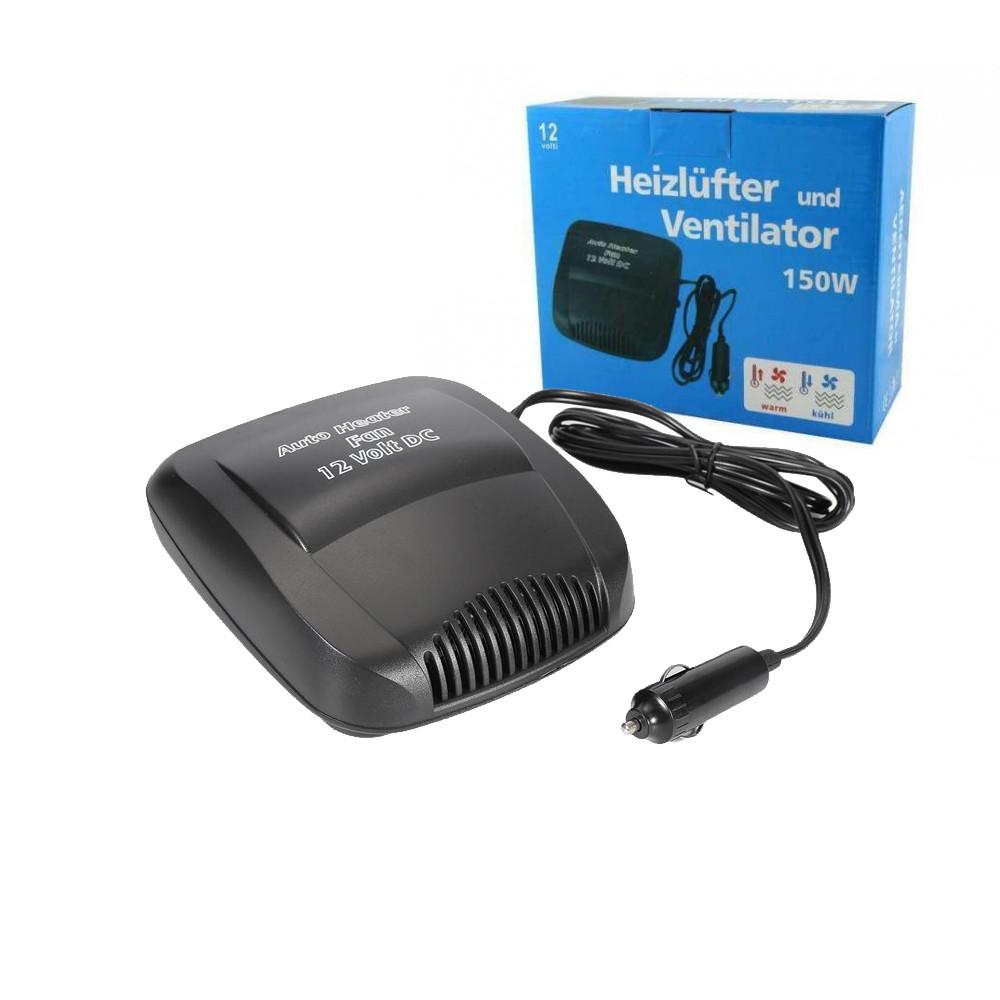 Авто обогреватель салона Auto Car Heater Fan 12В 150Вт, керамический от прикуривателя, тепловентилятор, дуйка, фото 1