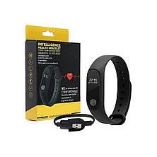 Фітнес браслет М2. Smart Band M2. Трекер серцевого ритму, пульс. Фітнес трекер. Крокомір. Годинник. CG06, фото 3