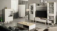Скандинавская мебель - модный тренд в гостиной и спальне