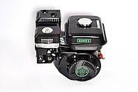 Двигатель бензиновый GrunWelt GW170F-Q NEW Евро 5 (шпонка, вал 19 мм, 7.0 л.с.), фото 1