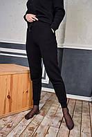 Спортивные штаны женские ЗИМНИЕ до - 25*С на флисе черные