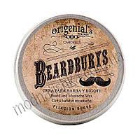 Воск BEARD WAX для бороды и усов 50 мл BEARDBURYS