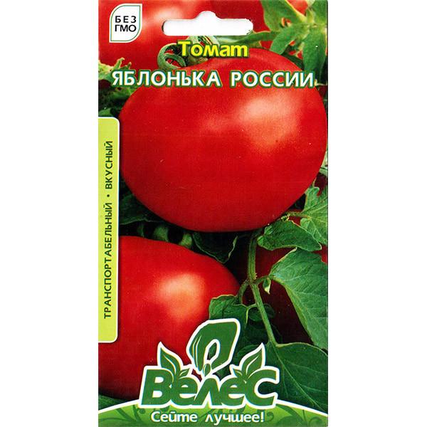 Семена томата Яблонька России 0,15г ТМ ВЕЛЕС