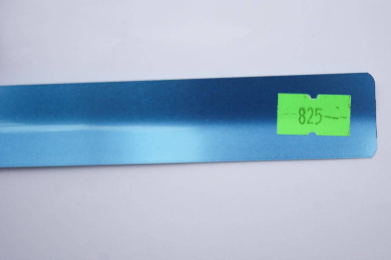 Горизонтальные алюминиевые жалюзи любого цвета под заказ 825 Светло-синий