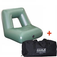 Надувное кресло для лодки ПВХ ЛКН-310-330 в комплекте с сумкой-чехлом