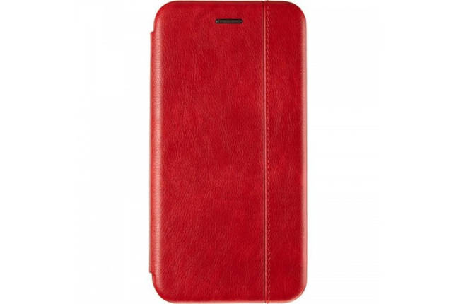 Book Cover Leather Gelius for Xiaomi Redmi 7a Red, фото 2