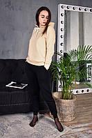 Спортивный костюм женский зимний с капюшоном до - 25*С Топ качество X beige, фото 1