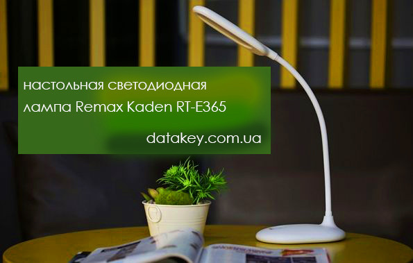 Настольная сетевая светодиодная лампа Remax Kaden RT-E365