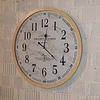 Настенные часы интерьерные (60 см. дерево, пластик), фото 1