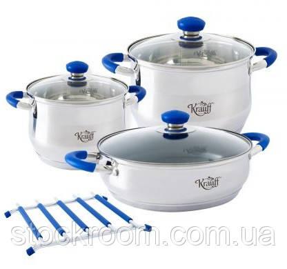 Набор кухонной посуды Krauff 26-242-010 Royalblau