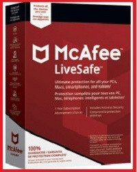 Антивіруснепрограмне забезпеченнявід McAfee
